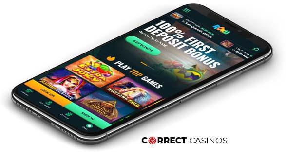 Roku Casino - Mobile Version