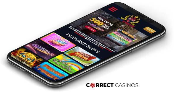 WinWindsor Casino - Mobile Version