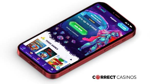 Casombie Casino - Mobile Version