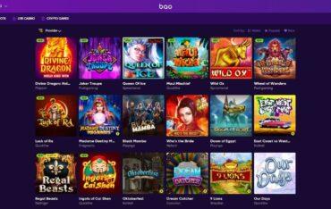 Games at Bao Casino