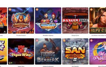 Games at Winning Days Casino