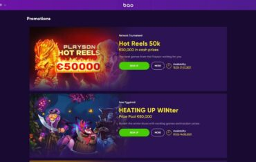 Promotions at Bao Casino
