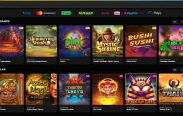 Games at Buck Casino