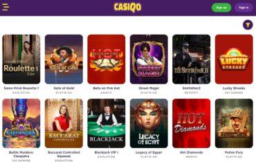 Games at Casiqo Casino