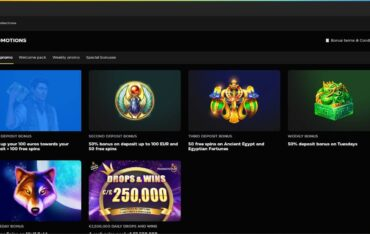 Promotions at Buck Casino