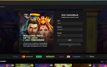 casinobuckcom - Website Review