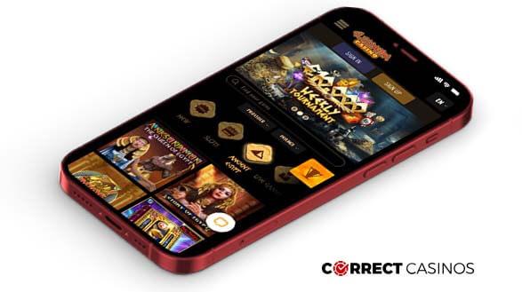 Cleopatra Casino - Mobile Version