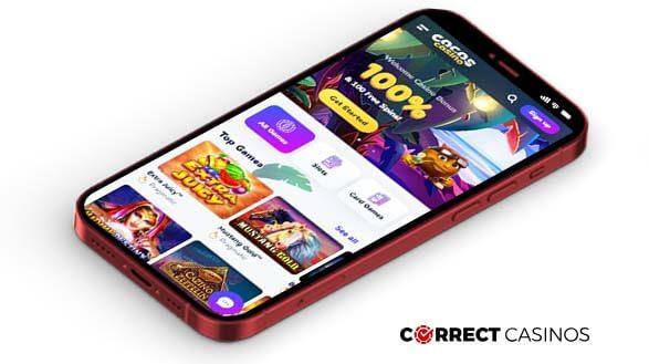 Cocos Casino - Mobile Version