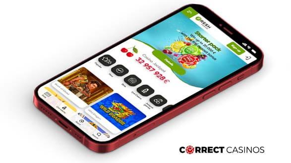Fresh Casino - Mobile Version