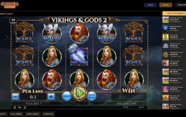 Game Play at Cleopatra Casino