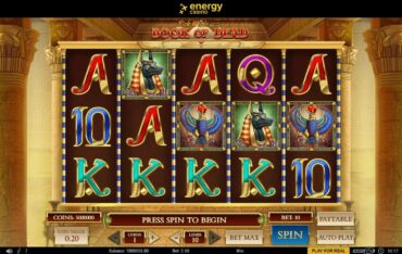 Game Play at Energy Casino