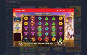 Game Play at Marsbet Casino