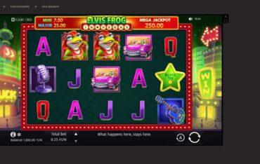 Game Play at National Casino