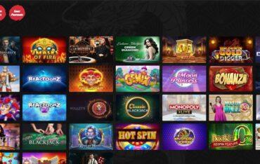 Games at Casino Masters