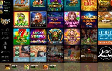 Games at Cleopatra Casino