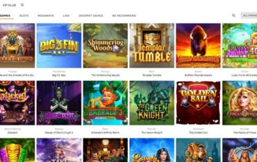 Games at Gioo Casino
