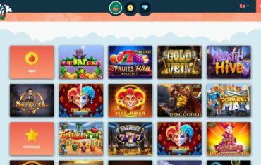 Games at HulaSpin Casino