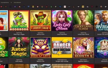 Games at National Casino