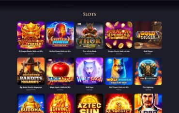 Games at QueenSpins Casino