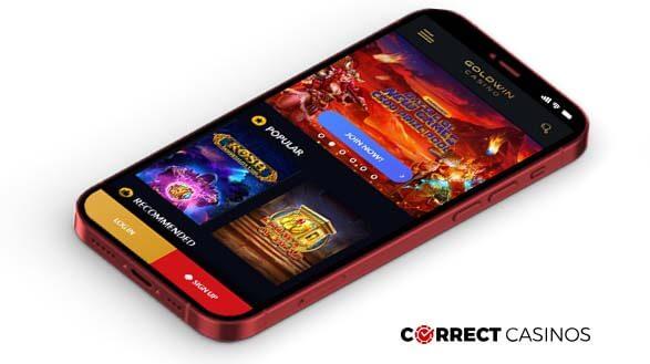 Gold Win Casino - Mobile Version