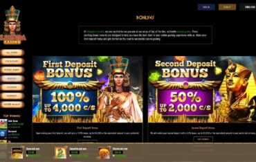 Promotions at Cleopatra Casino