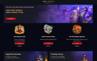 Promotions at Gold Win Casino