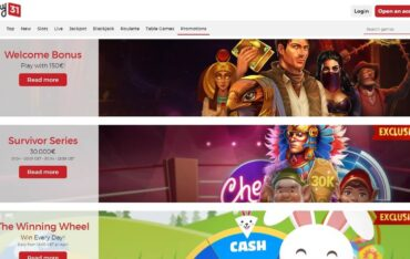Promotions at Lucky31 Casino