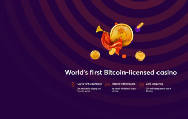 Sign Up at Bitcasino