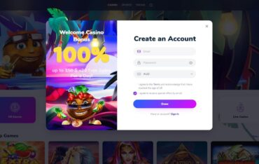 Sign Up at Cocos Casino