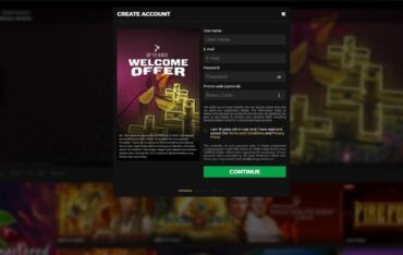 Sign up at Energy Casino