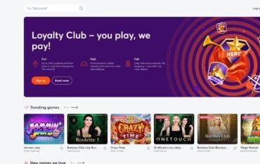 bitcasinoio - Website Review
