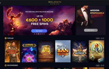 goldwincom - Website Review