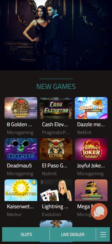 777Bay Casino - Mobile Version