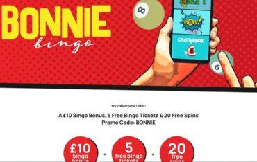 Bonniebingocom - Website Review