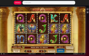 Game Play at Rigged Casino