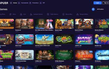 Games at Sunpura Casino