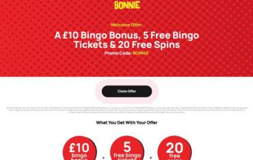 Promotions at BonnieBingo Casino