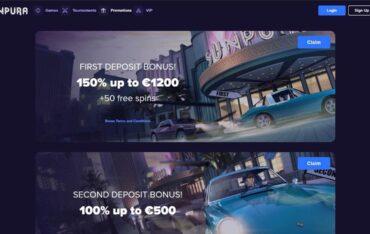 Promotions at Sunpura Casino