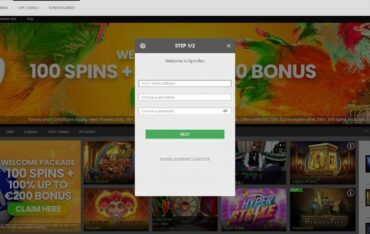 Sign Up at SpinRio Casino