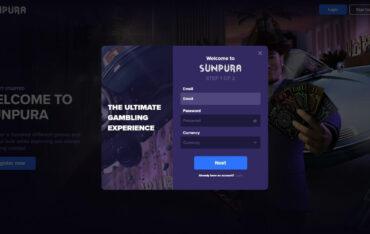Sign Up at Sunpura Casino