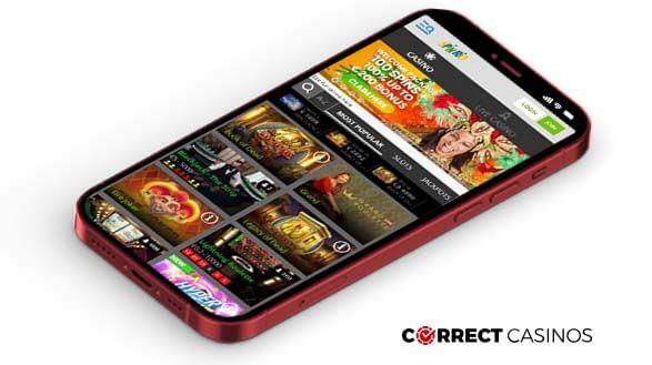 SpinRio Casino - Mobile Version