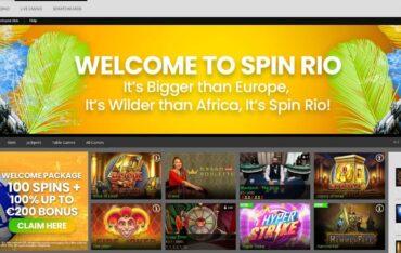 spinriocom - Website Review