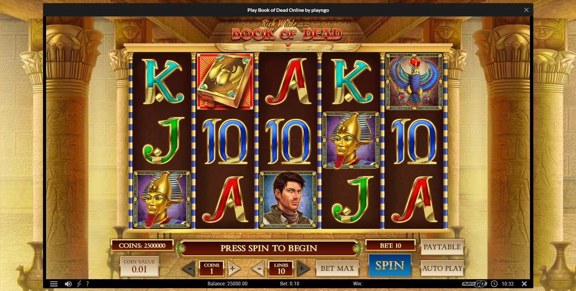 Game Play at Premier Casino