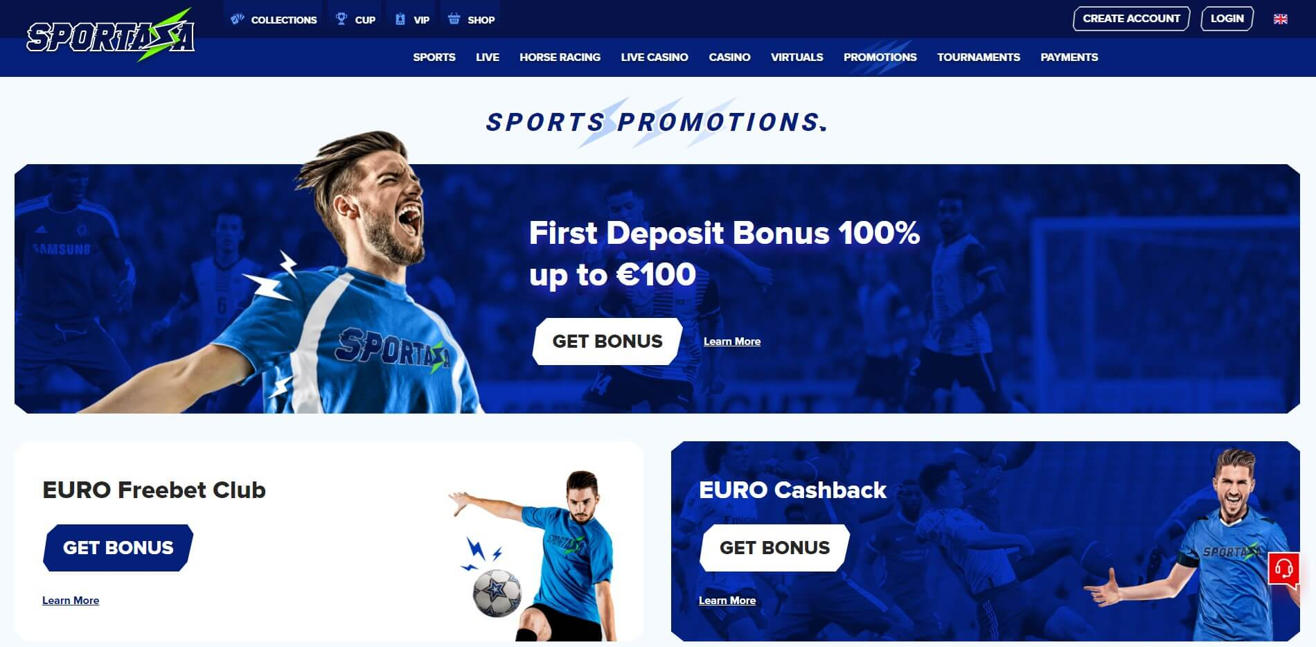 Promotions at Sportaza Casino