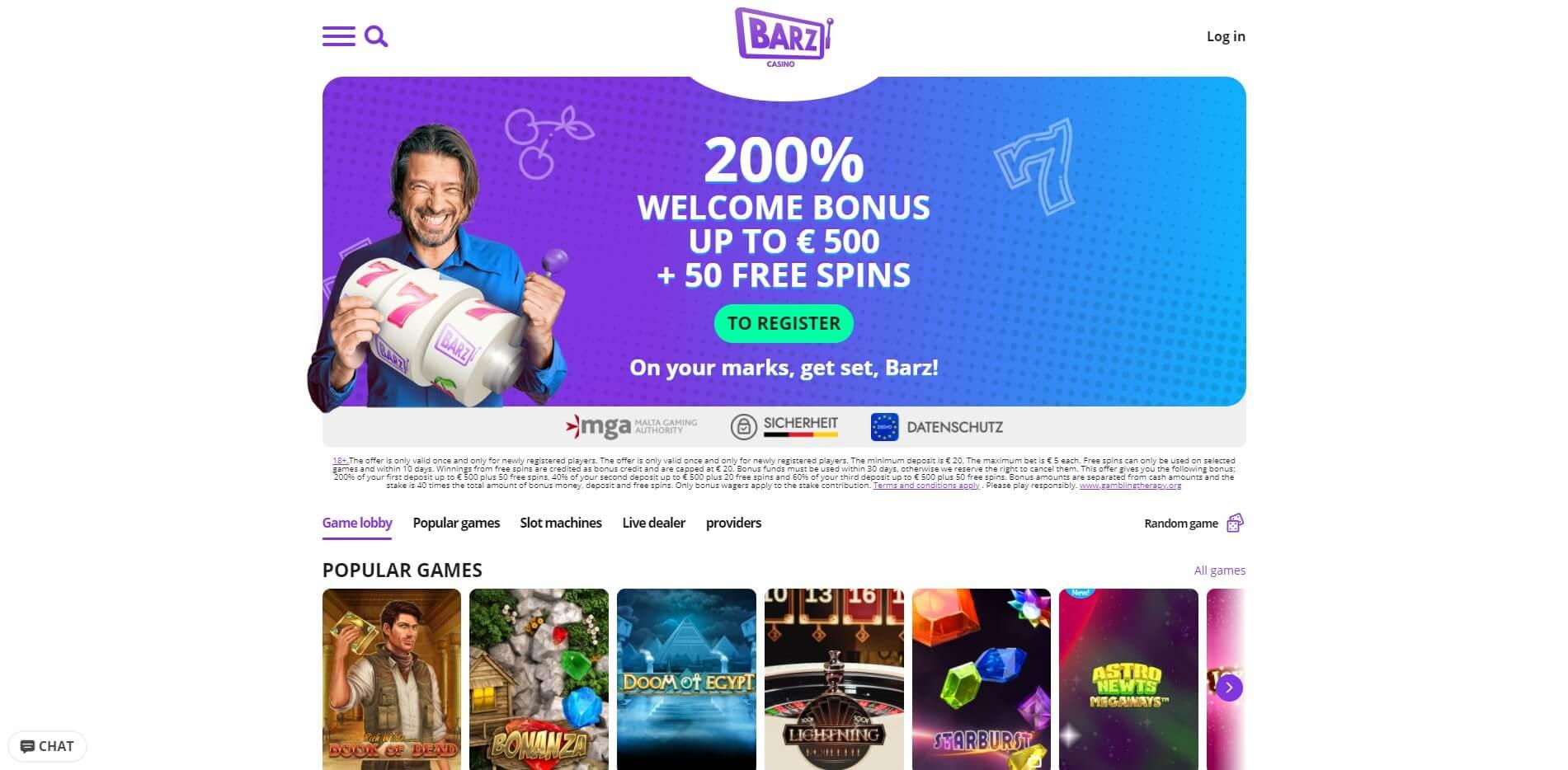 barz.com - Website Review