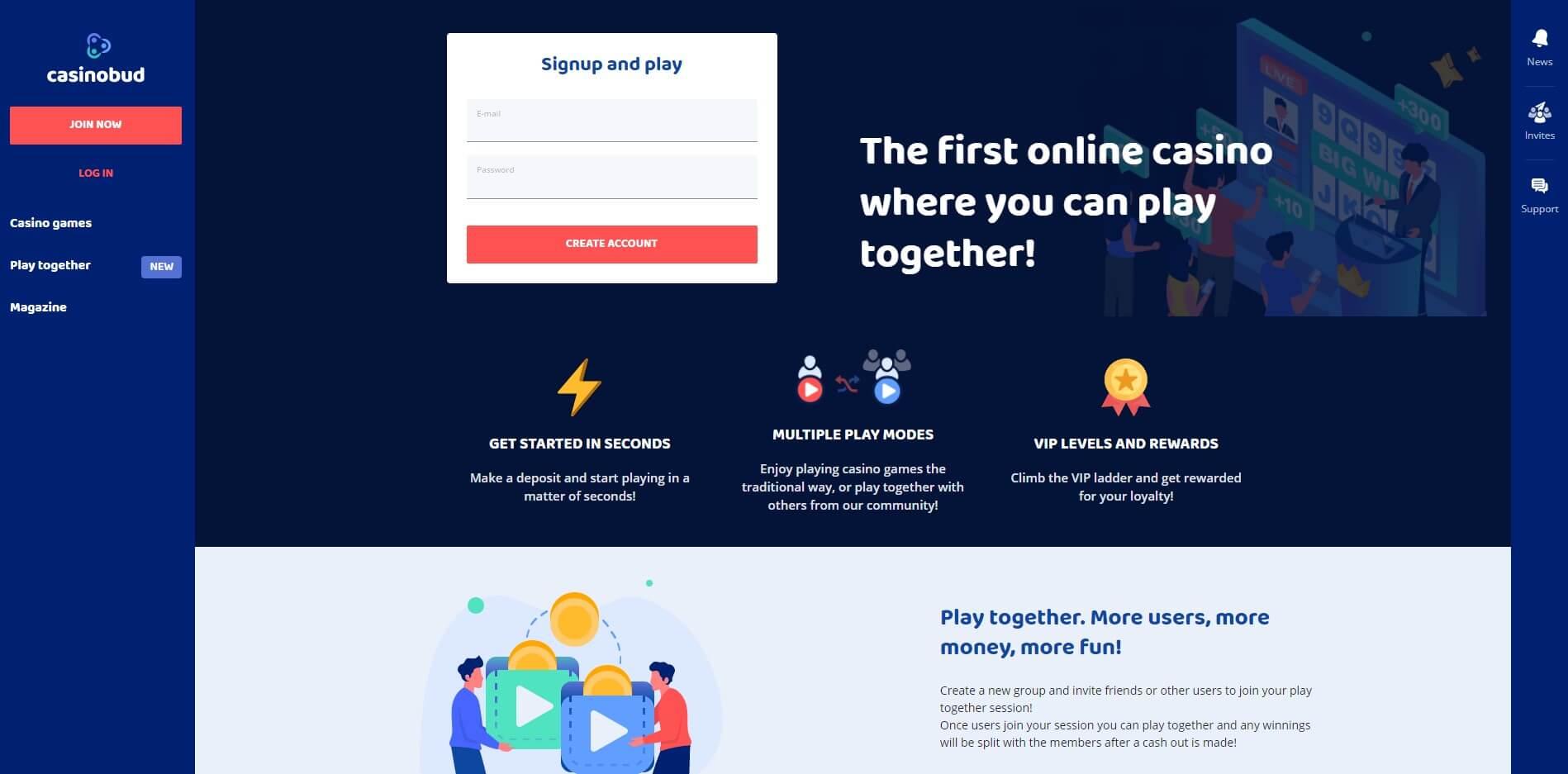 casinobud.com - Website Review