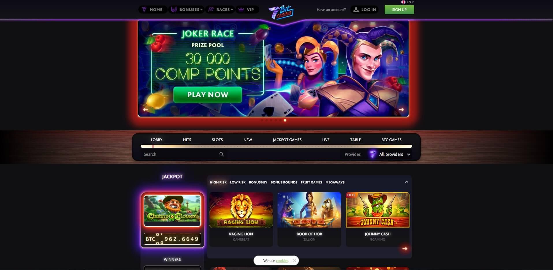7bitcasinocom - Website Review