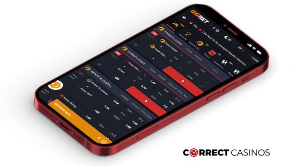 GGBet Casino - Mobile Version