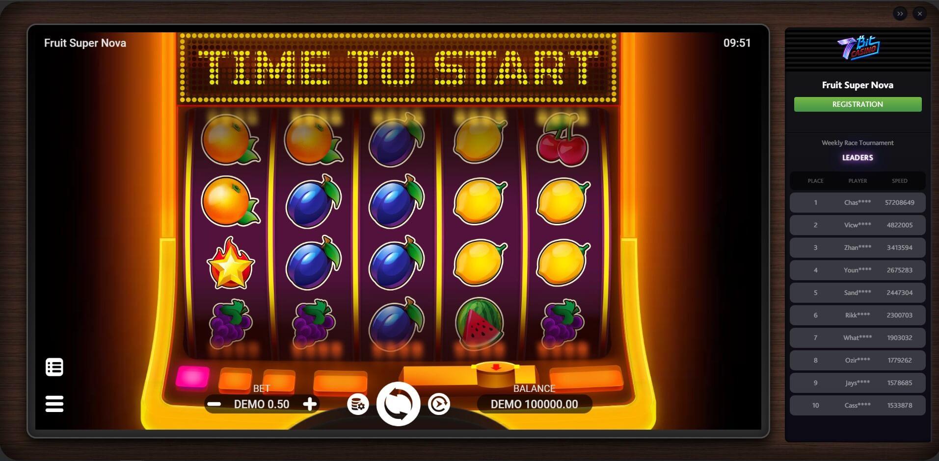 Game Play at 7Bit Casino