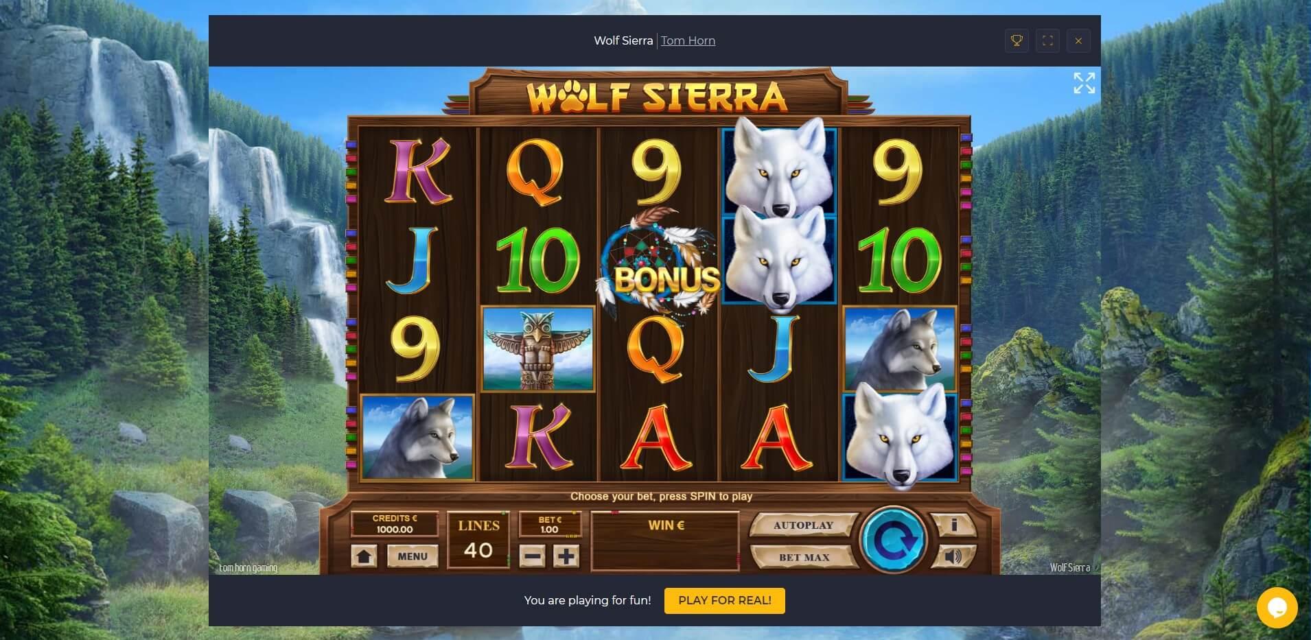 Game Play at RollingSlots Casino
